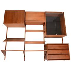 50 Piece Barzilay Walnut Wall Unit