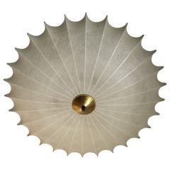 Achille Castiglioni Italian 1960s Flush Ceiling Light
