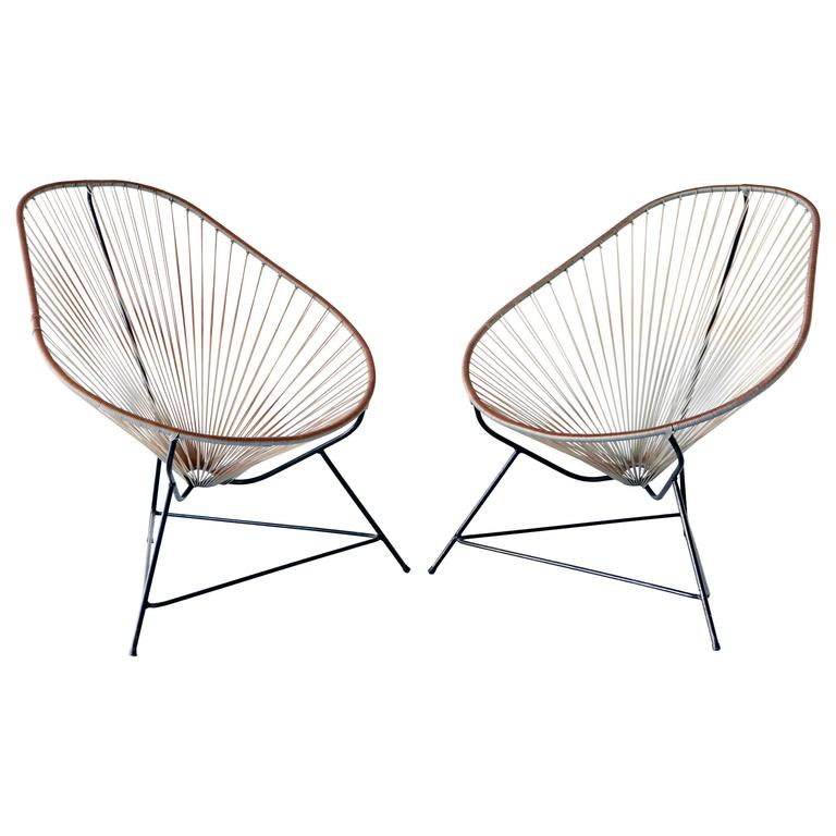 Acapulco Indoor Outdoor Lounge Chairs At 1stdibs