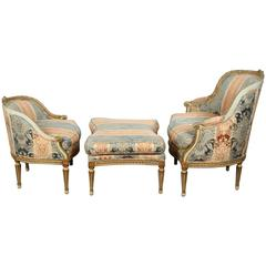 French Neoclassical Style Duchesse Brisse