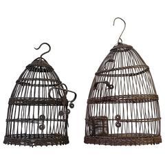 Set of Tunisian Wirework Bird Cages