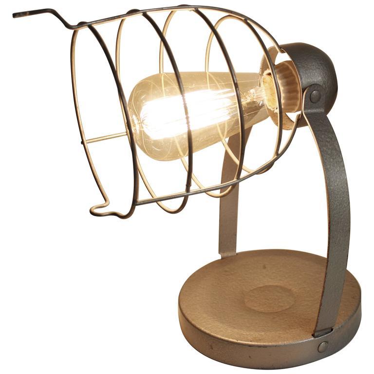 Machine Age Metal Industrial Lamp