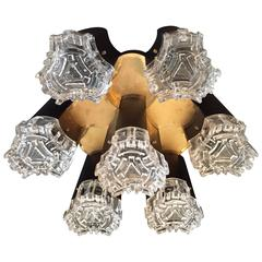 Gaetano Sciolari Italian Flush Ceiling Light