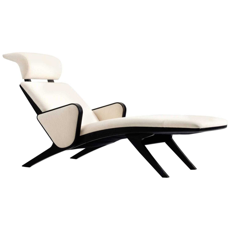 Okamura And Marquardsen Comfortable Chaise Longue Denmark
