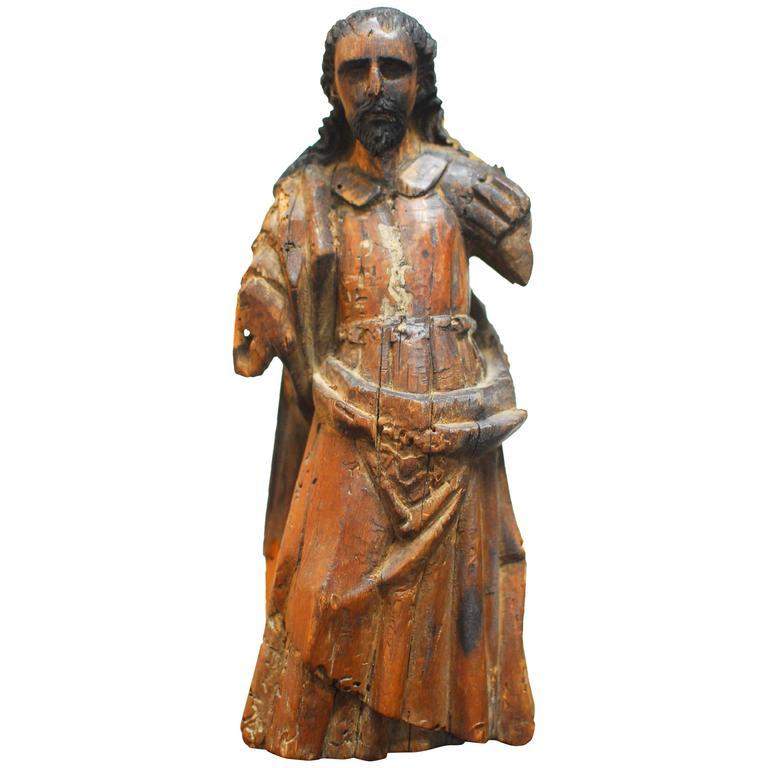 18th Century Spanish Santos Statue
