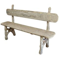 Concrete Benches 9 For Sale At 1stdibs