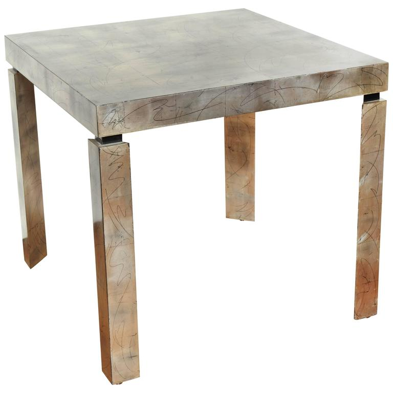 Contemporary design game table at 1stdibs for Contemporary game table and chairs