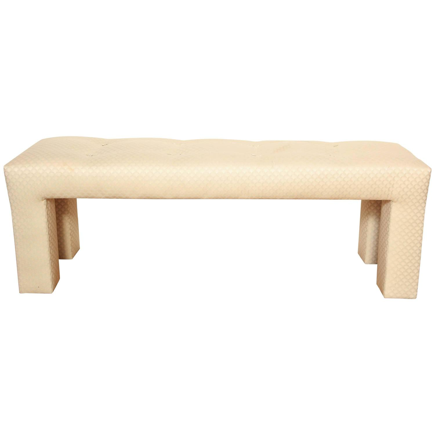 Contemporary Design Custom Bench By Deangelis At 1stdibs