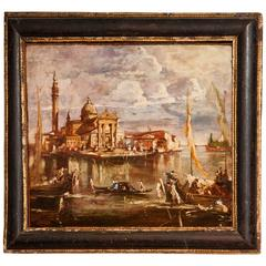 18th Century Italian School Oil on Board