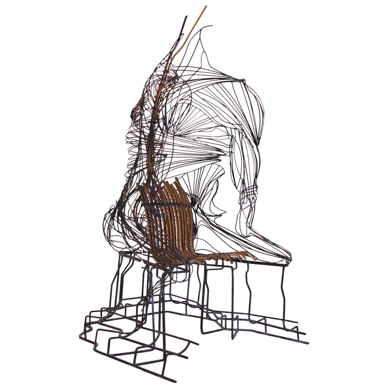 39 chaise humaine 39 unique artwork chair by romain de souza for Chaise francaise