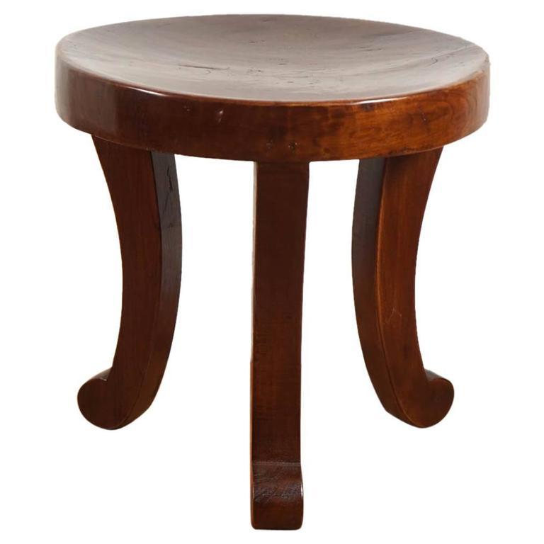Three Legged Stool ~ Three legged stool at stdibs