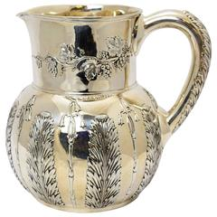 Tiffany & Co. Sterling Silver Water Pitcher, circa 1885