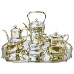 Tiffany & Co. Sterling Silver Tea and Coffee Set, circa 1915