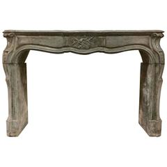Antique Bluestone Mantel