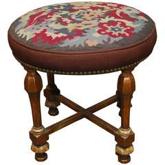 Louis XVI Style Giltwood Tabouret Stool