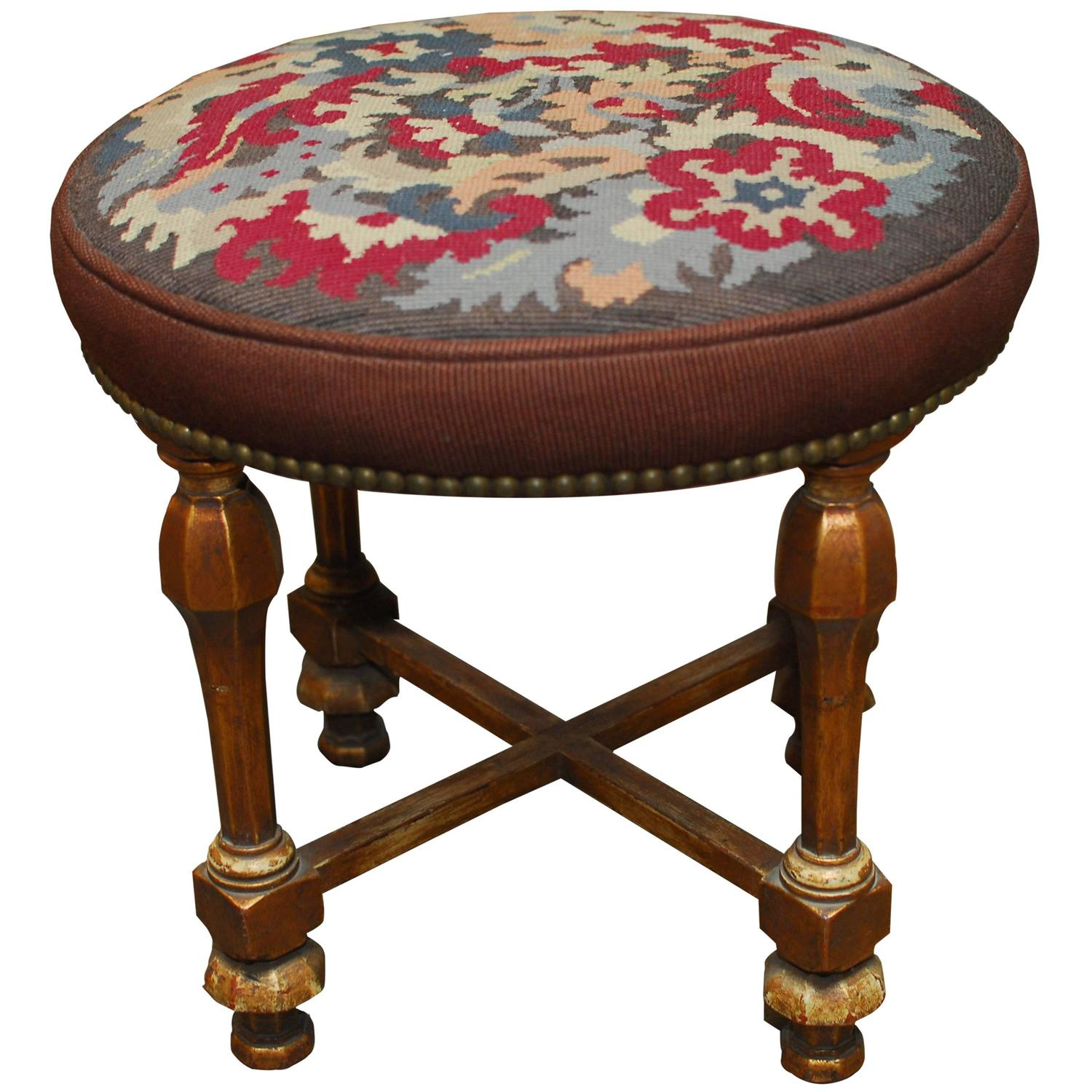 Louis Xvi Style Giltwood Tabouret Stool For Sale At 1stdibs