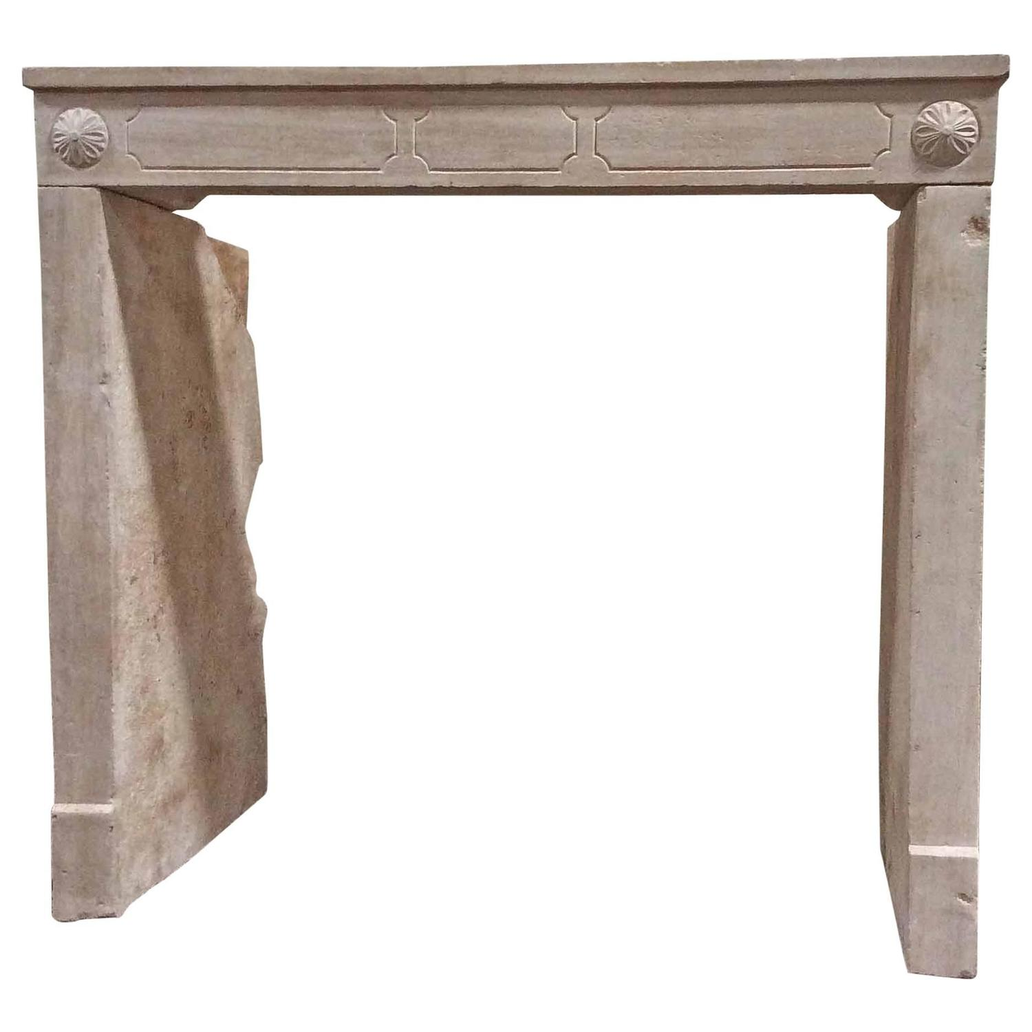 antique french limestone mantel at 1stdibs