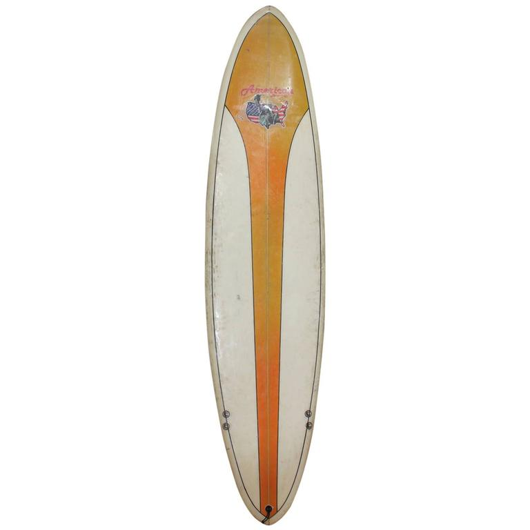 Vintage Surfboard by American Board Company For Sale