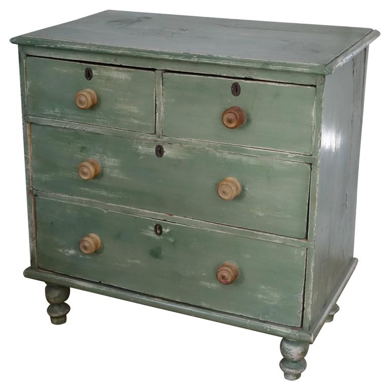 English Pine Chest of Drawers