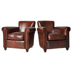 Pair Of Art Deco Tulip Open Armchairs For Sale At 1stdibs