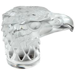 Crystal Eagle Bust by Lalique