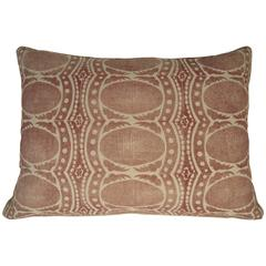 Large Drusus Tabor Hand Block Printed Sofa or Bed Pillows