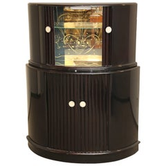 English Art Deco Bar Cabinet, circa 1930