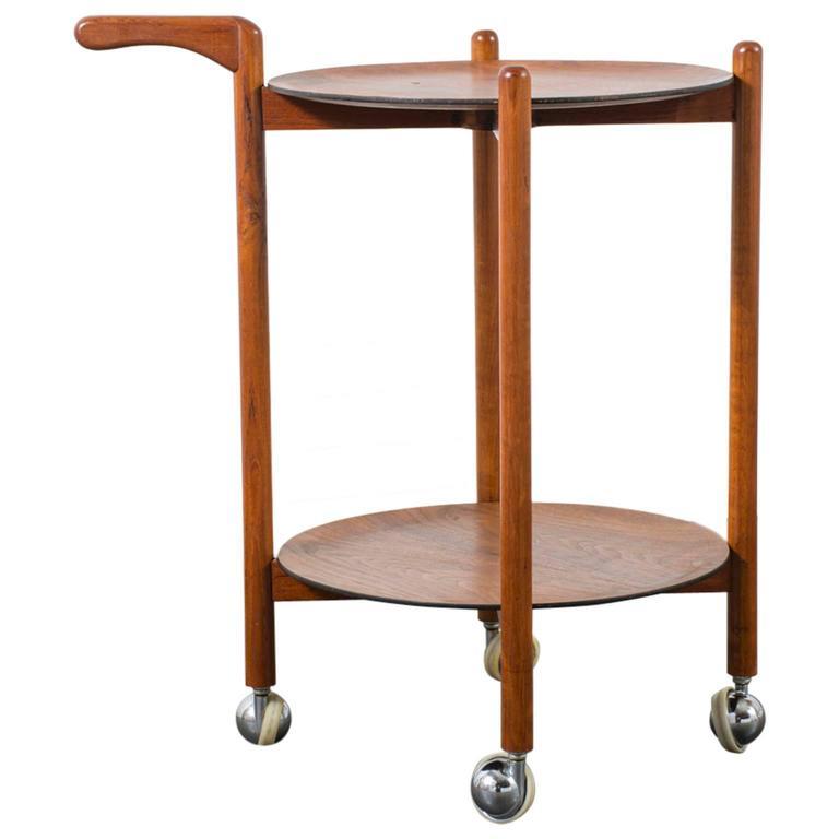 Danish Modern Bar Cart At 1stdibs