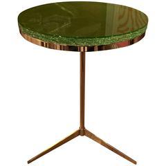 Brass Tripod Table