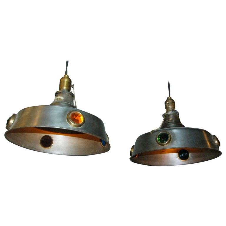 Arts And Crafts Billiard Pool Table Pendant Lights For Sale At 1stdibs