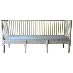 19th Century Swedish Gustavian Style Sofa