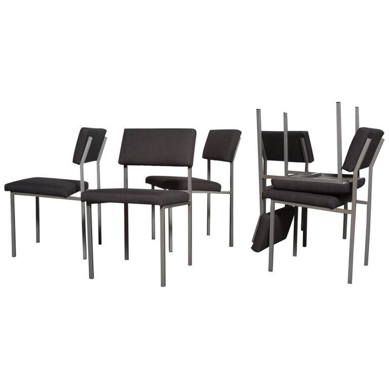 Set of 6 Martin Visser Dining Chairs
