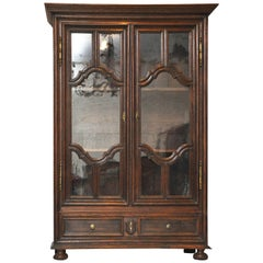 18th Century French Country Armoire / Bookcase