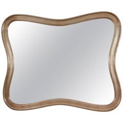 "Rare ""Rococo"" Modern Mirror by James Mont"