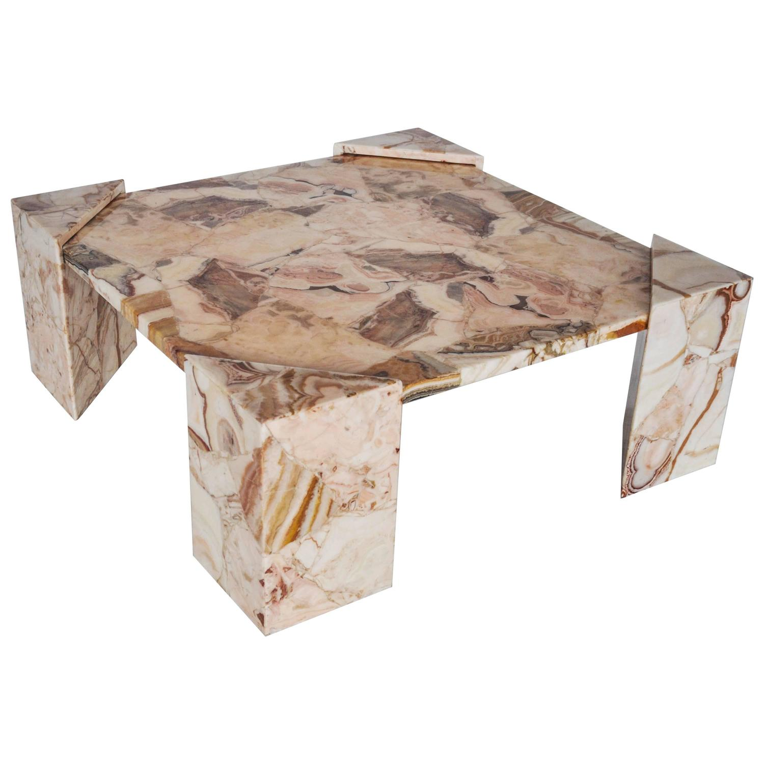 Onyx Coffee Table at 1stdibs