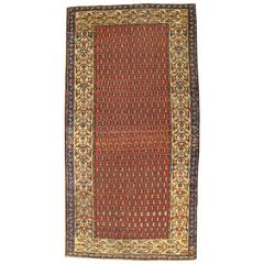 Antique Persian Malayer Oriental Rug with Paisley Motifs