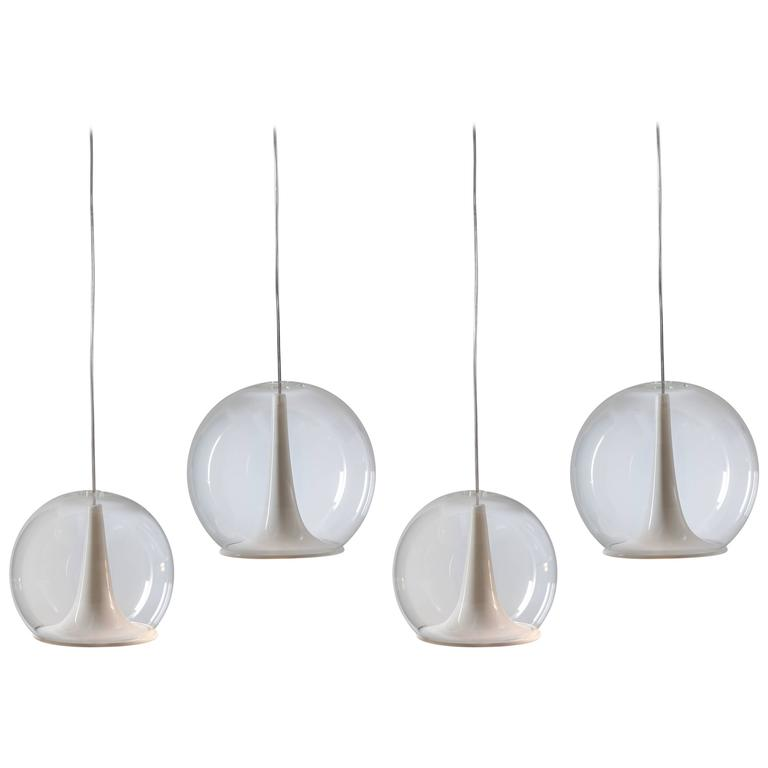Trumpet Hanging Lamps by Bosa