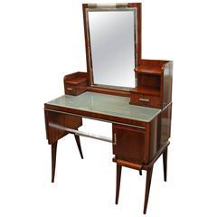 Hungarian Art Deco Dresser in Walnut
