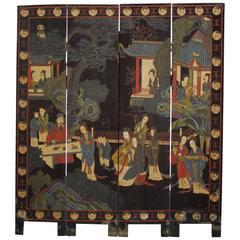 19th Century Chinese Coromandel Screen