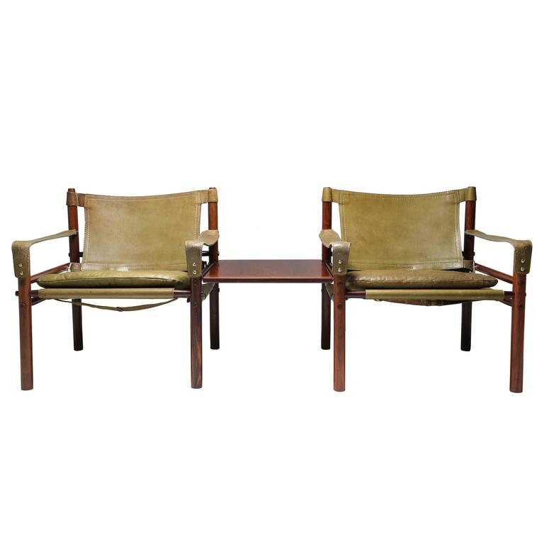 Attachable High Chair To Table This Rosewood Safari Chairs by Arne Norell is no longer available.