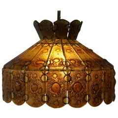 Italian Glass Pendant Light