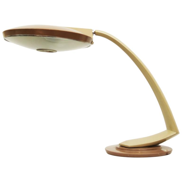 Awesome Midcentury Spanish Fase Madrid Desk Lamp For Sale