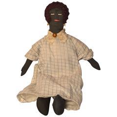 American Southern Black Rag Doll, circa 1940