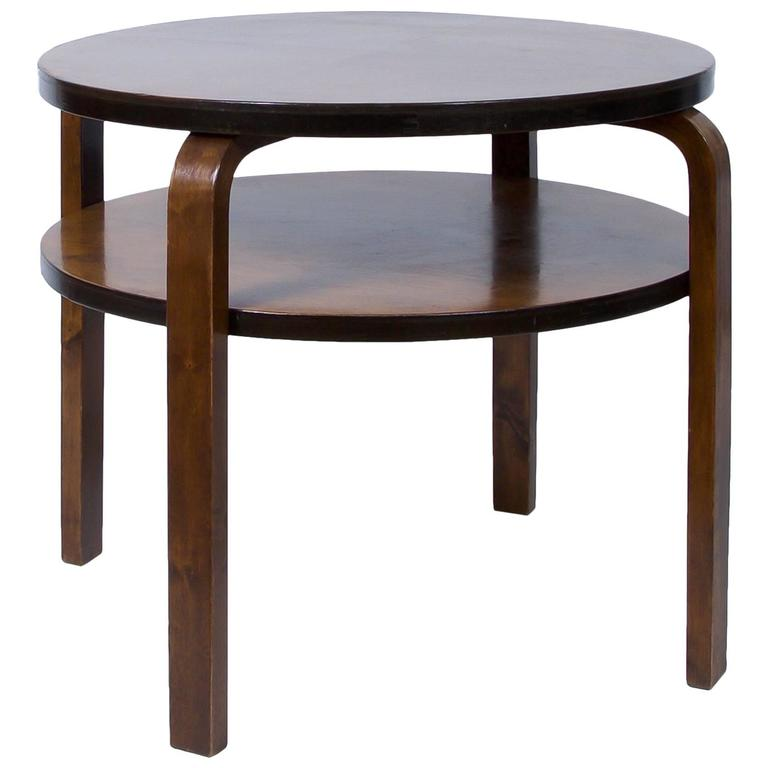 Alvar Aalto Early Edition Club Table Circa 1930s At 1stdibs