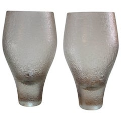 Pair of Rosenthal Glass Vases