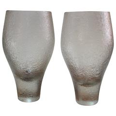 Pair of Rosenthal Glass Vases