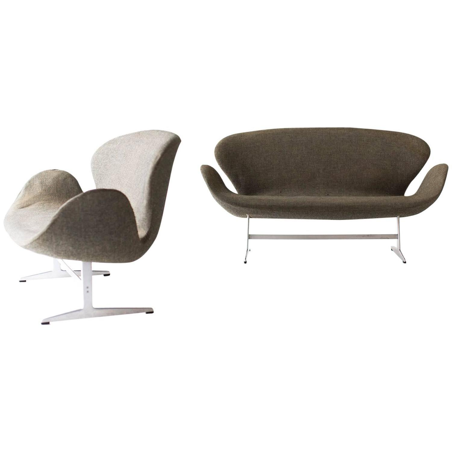 Swan sofa arne jacobsen swan sofa for at 1stdibs thesofa - Fauteuil swan arne jacobsen ...