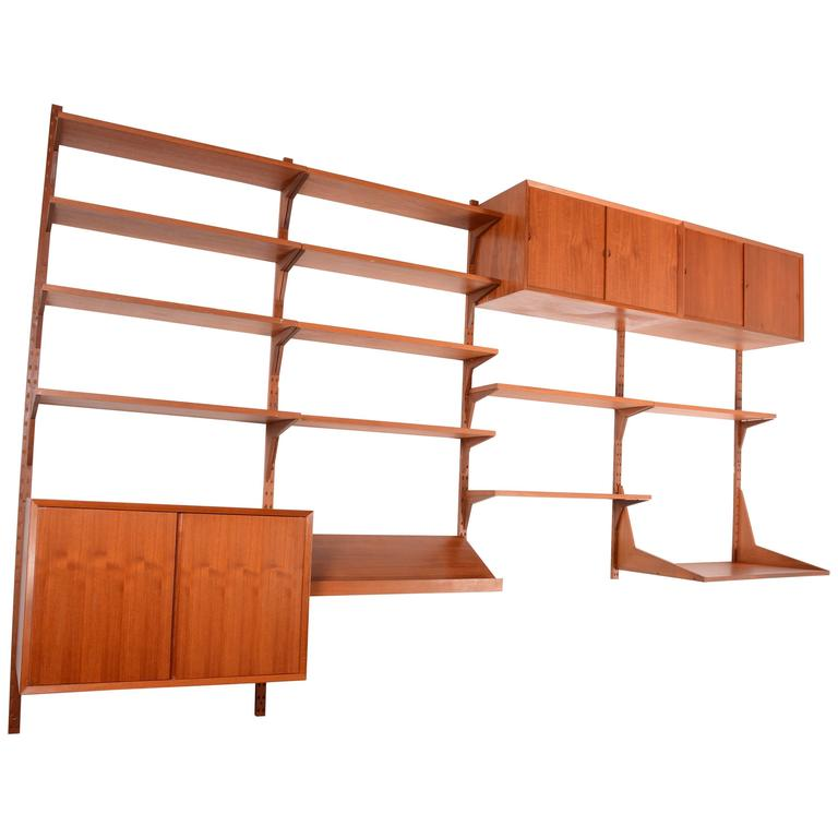 Poul Cadovius Cado Royal Wall Unit in Teak