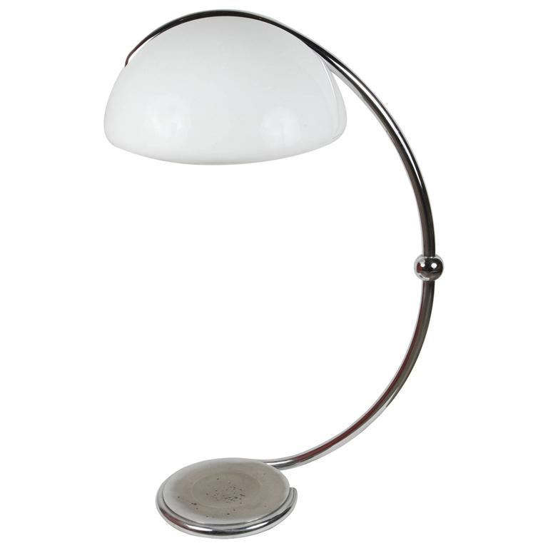 Italian Serpente Floor Lamp by Elio Martinelli