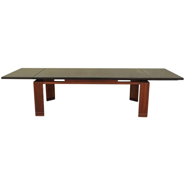 Coffee Table With Extension Leaves By Edward Wormley For